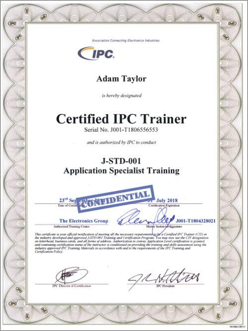 IPC-J-Std CIT-30-07-2018